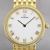 Eterna Orologio da donna 25mm Quarzo usato Orologio con scatola originale 2000