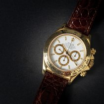 Rolex Daytona Yellow gold 40mm White Arabic numerals