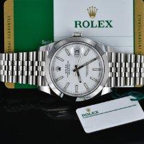 Rolex Datejust Steel 41mm White No numerals United States of America, Michigan, Southfield