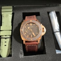 Panerai Bronze Automatic Brown No numerals 47mm new