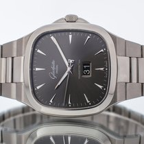 Glashütte Original Seventies Panorama Date Steel 40mm Grey