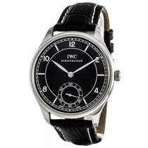 IWC Portuguese Hand-Wound Steel 44mm Black Arabic numerals United States of America, Massachusetts, Andover