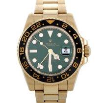 Rolex GMT-Master II Yellow gold 40mm Green United States of America, Pennsylvania, Southampton