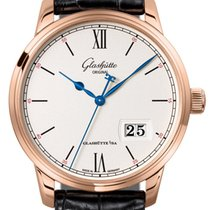 Glashütte Original Senator Excellence Red gold 40mm Silver Roman numerals United States of America, Florida, Sunny Isles Beach