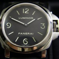 Panerai Luminor Base Steel Black Arabic numerals Singapore, Singapore