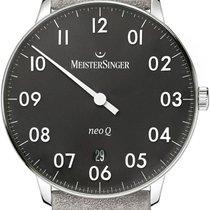 Meistersinger NeoQ NQ902N Einzeigeruhr Mit Wechselband