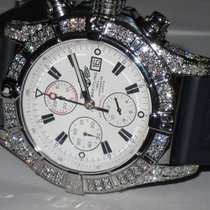 Breitling Super Avenger Steel 48mm White No numerals United States of America, New York, NEW YORK CITY