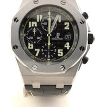Audemars Piguet Royal Oak Offshore Chronograph Acciaio 44mm Nero Arabo Italia, ROMA