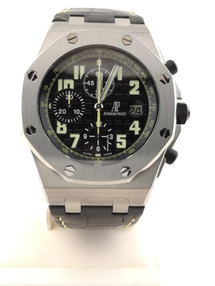 24437f67761 Audemars Piguet Royal Oak Offshore - Todos os preços de relógios Audemars  Piguet Royal Oak Offshore na Chrono24