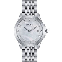 Bulova Ladies 96S174 Diamond Watch