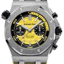 Audemars Piguet Royal Oak Offshore Diver Chronograph Steel 42mm Yellow