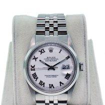 Rolex Datejust Men's 16000  Roman Numeral Dial Jubilee Bracelet
