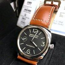 Panerai Pam183 Black Seal Mint Complete Set Mens Watch