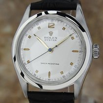 Rolex 4499 1945 Oyster Mid Sized 33mm Manual Men's Classic...