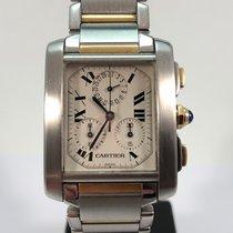 Cartier Tank Française chronoflex