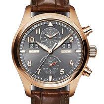 IWC Pilot Spitfire Perpetual Calendar Digital Date-Month nowość 46mm Złoto różowe
