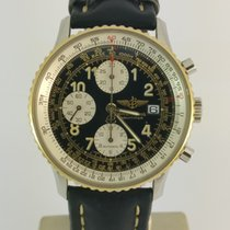 Breitling Navitimer Gold/Steel 41mm Black