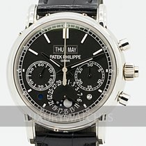 Patek Philippe Perpetual Calendar Chronograph 5204P-011 Very good Platinum 40mm Manual winding