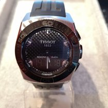 Tissot Silver Quartz pre-owned Racing-Touch