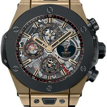 Hublot Big Bang 45 Mm Unico Perpetual Calendar Magic Gold...