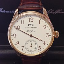 IWC tweedehands Handopwind 43mm Wit Saffierglas