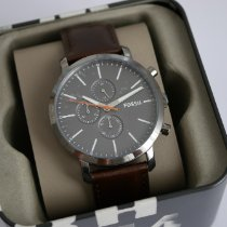 Fossil Steel 44mm Quartz new
