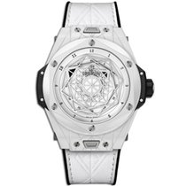 Hublot Big Bang Sang Bleu Ceramic 45mm White