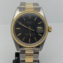 Rolex Oyster Perpetual Date 1505 Very good Gold/Steel 34mm Automatic