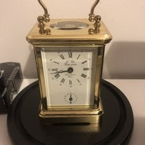 L'Epée 112mm Manual winding carriage clock pre-owned