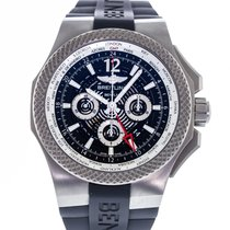 Breitling Titanium Automatic Transparent 49mm pre-owned Bentley GMT