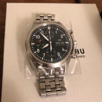 IWC IW377710 Steel 2019 Pilot Chronograph 43mm pre-owned United States of America, New Jersey, Jersey City