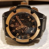Hublot King Power 701.CO.0180.RX Very good Ceramic 48mm Automatic Malaysia, Sabah