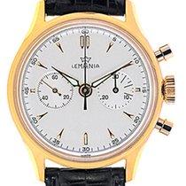 Lemania Mans Wristwatch Chronograph