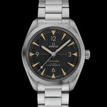 Omega Seamaster Railmaster Steel 40mm Black Arabic numerals United States of America, New Jersey, Oradell