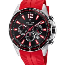 Festina Steel 47mm Quartz F20376/6 new
