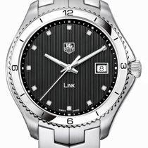 TAG Heuer Link Quartz nuevo Cuarzo Reloj con estuche original WAT1112.BA0950