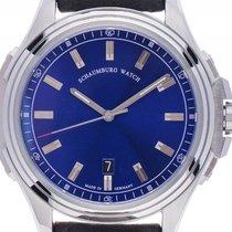 Schaumburg Watch Urbanic Stahl Automatik Armband Leder 45mm...