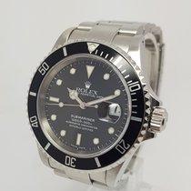 Rolex Submariner Date 40mm Mens Steel Watch 2000 Full Set