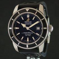 Breitling Superocean Héritage 42 Steel Case Black Dial