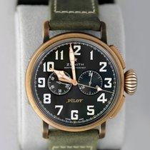 Zenith Pilot Type 20 Extra Special 29.2430.4069/21.C800 ZENITH Type 20 Special Bronzo Verde 45m new
