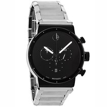 Movado Sapphire Synergy Mens Swiss Chronograph Quartz Watch...