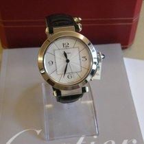 Cartier pasha 42  white gold