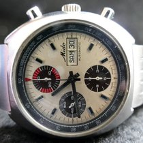 Mido Chronograph 42mm Automatic 1990 pre-owned Champagne