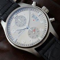 IWC Pilot Spitfire Chronograph JU-AIR Limited NEW