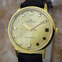 Movado Tempo Matic 14k Gold Swiss Made Mens 1960s Automatic...
