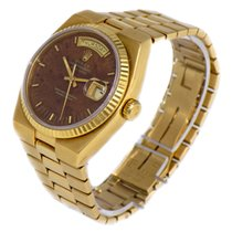Rolex Day-Date Oysterquartz Wood Dial - RARE -