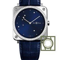 Bell & Ross Aviation DIAMOND-EAGLE Blue diamond dial diamond...