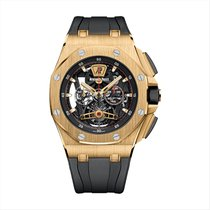 Audemars Piguet Royal Oak Offshore Tourbillon Chronograph new Yellow gold