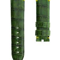 Panerai Vintage Green Alligator Strap 24mm Alcantara Lining