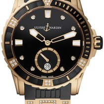 Ulysse Nardin Lady Diver Rose gold 40mm Black United States of America, New York, Airmont